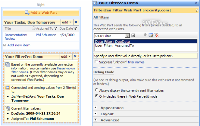 FilterZen - SharePoint Filter Web Parts Screenshot 2