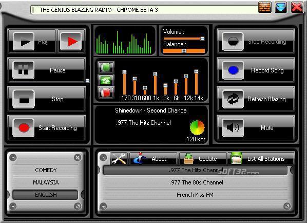 Blazing Radio Screenshot 1