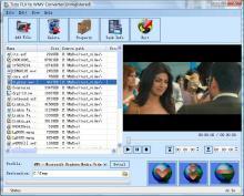 Tutu FLV to WMV Converter Screenshot