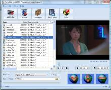 Tutu FLV to MPEG Converter Screenshot 1