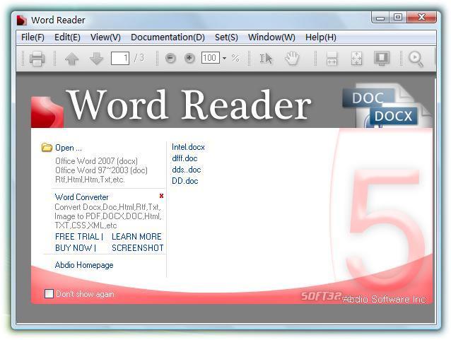 Word Reader Screenshot 2