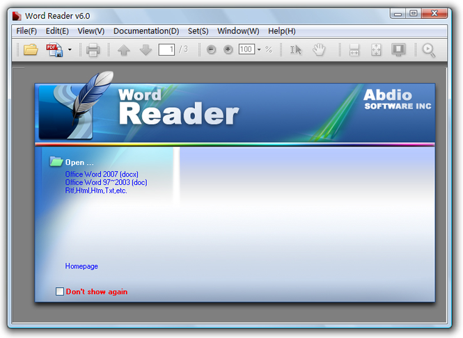 Word Reader Screenshot 3