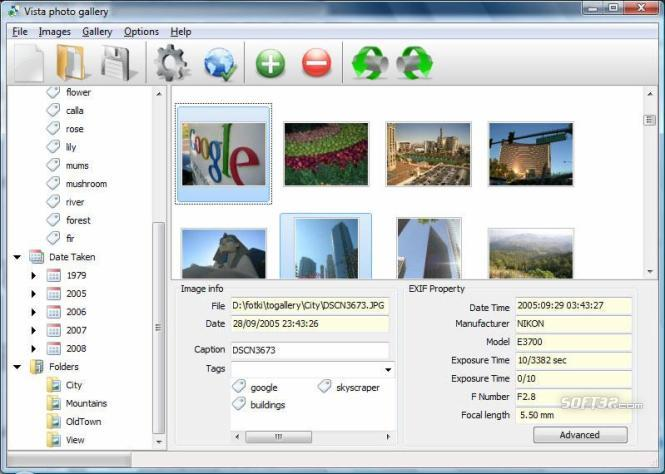 Vista Photo Gallery Screenshot 2