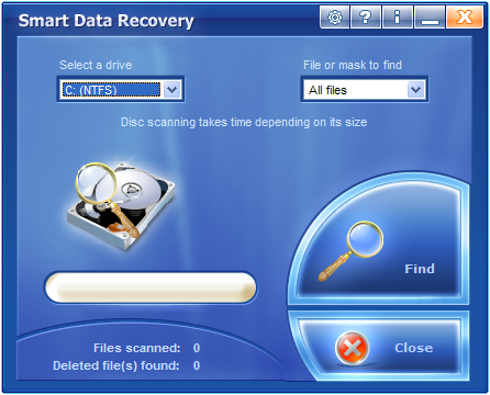 Smart Data Recovery Screenshot