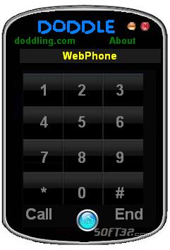 Doddle WebPhone Screenshot 2