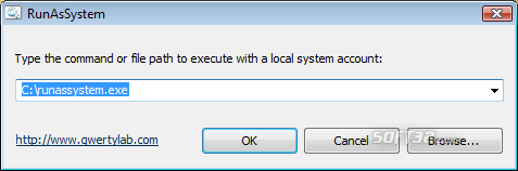 Run As System Screenshot 2