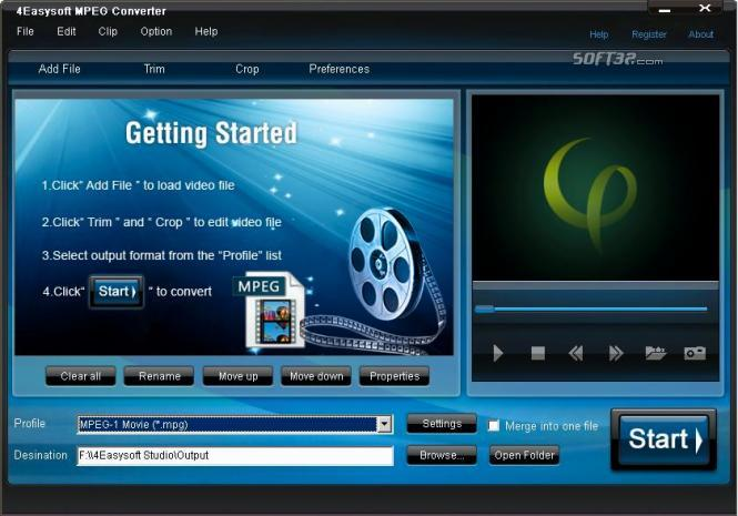 4Easysoft MPEG Converter Screenshot 2