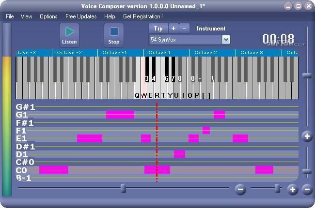 Xitona Voice Composer Screenshot 2