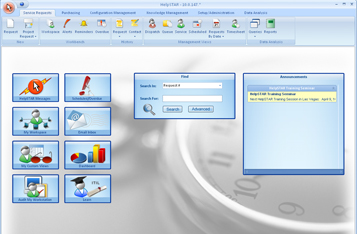 HelpSTAR - Help Desk Software Screenshot 1