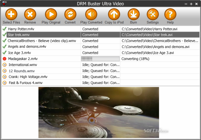 DRMBuster Screenshot 3