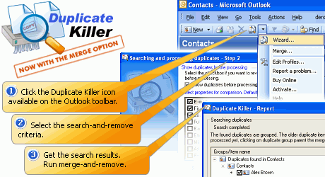 Duplicate Killer for Microsoft Outlook Screenshot