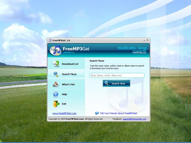 FreeMP3Get Screenshot