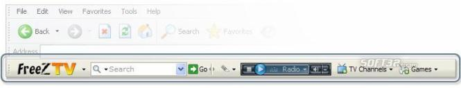 FreeZ TV Toolbar Screenshot 1