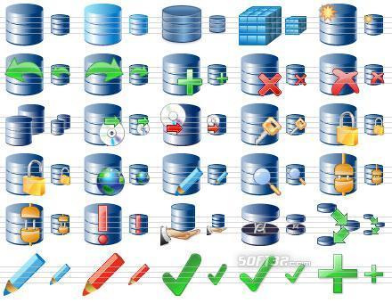 Perfect Database Icons Screenshot 2