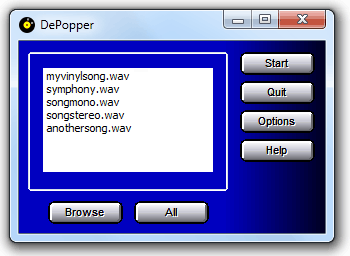 DePopper Screenshot