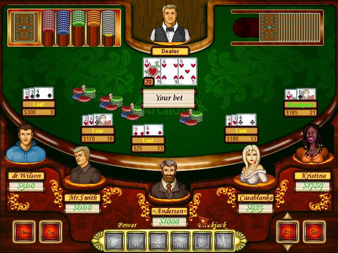 Blackjack Suite Screenshot
