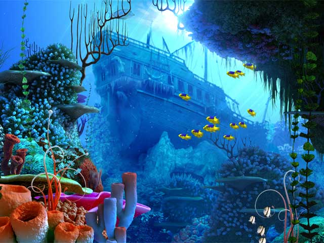 Coral Reef 3D Screensaver Screenshot 1