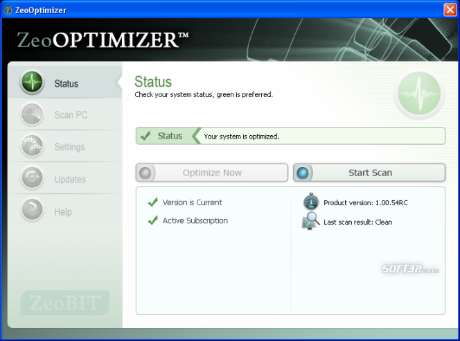 ZeoOptimizer Screenshot