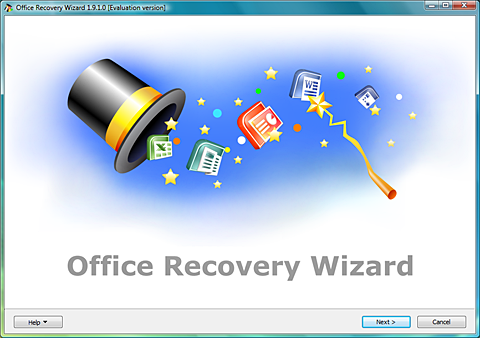 Office Recovery Wizard Screenshot