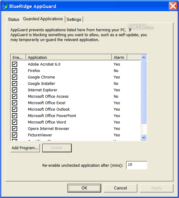 AppGuard Screenshot 3