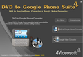4Videosoft DVD to Google Phone Suite 1