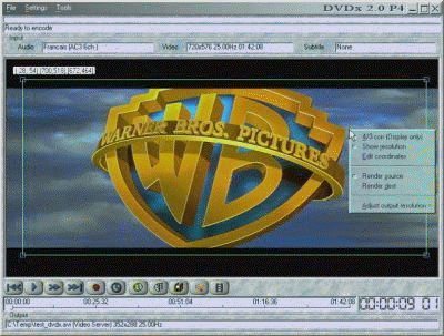 DVDx Screenshot 1