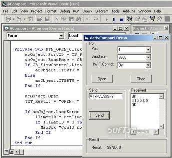 ActiveXperts Serial Port Component Screenshot 2