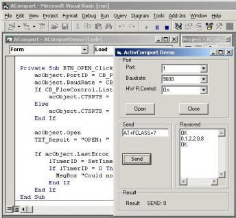 ActiveXperts Serial Port Component Screenshot 1