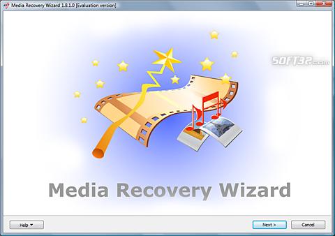Media Recovery Wizard Screenshot 2