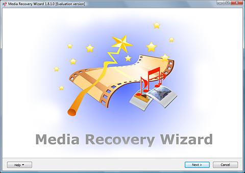 Media Recovery Wizard Screenshot 1