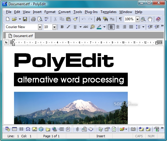 PolyEdit Lite Screenshot 2
