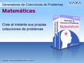 GMZ2 Generador de Problemas Matematicas 1