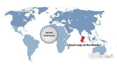 Multi-level World Map (Complete set #2) Screenshot 3
