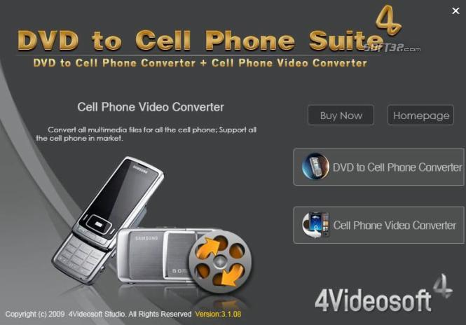 4Videosoft DVD to Cell Phone Suite Screenshot 3