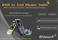 4Videosoft DVD to Cell Phone Suite 1