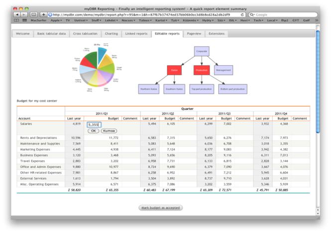 myDBR Screenshot 1