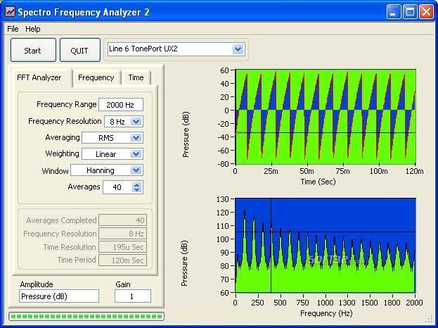 Spectro Frequency Analyzer Screenshot 3