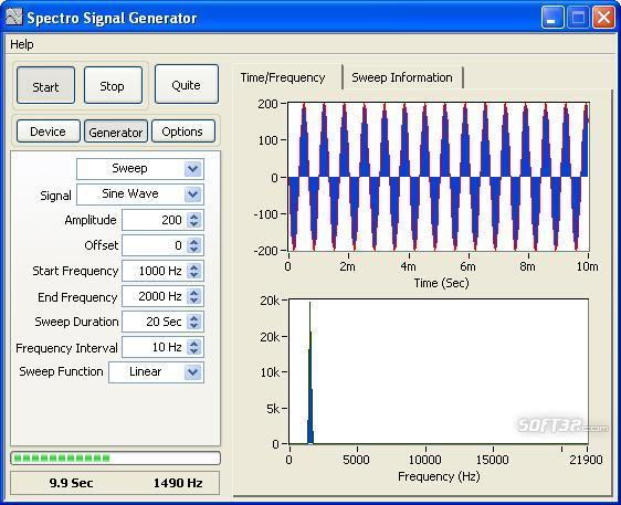 Spectro Signal Generator Screenshot 3