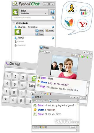 Eyeball Chat Screenshot 3