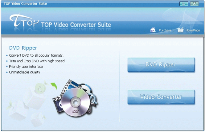 TOP Video Converter Suite Screenshot