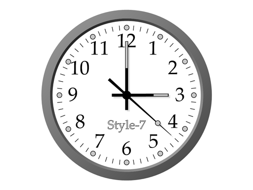 Office Clock-7 Screenshot