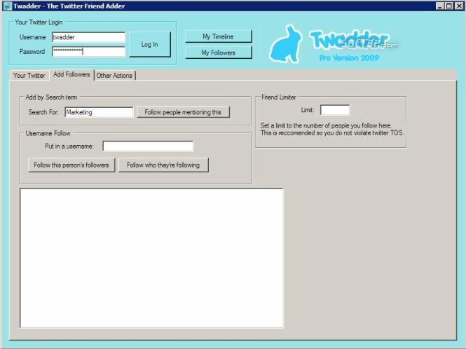 Twadder Pro Screenshot 3