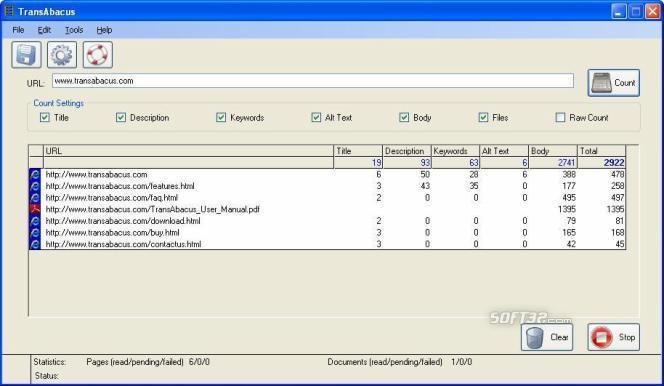 TransAbacus Screenshot 3