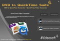 4Videosoft DVD to QuickTime Suite 1