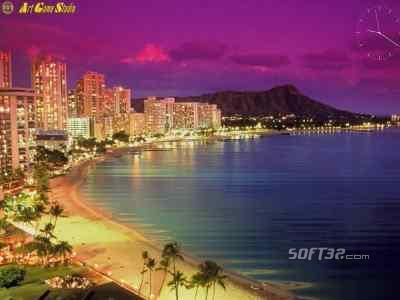 Amazing Waikiki Screensaver Screenshot