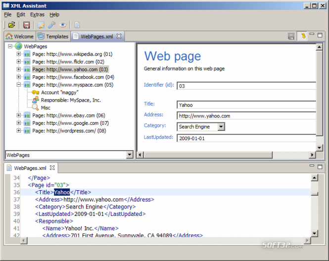 XML Assistant Screenshot 2