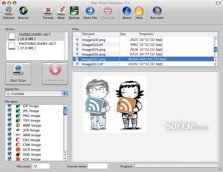 Mac Photo Recovery Screenshot 2