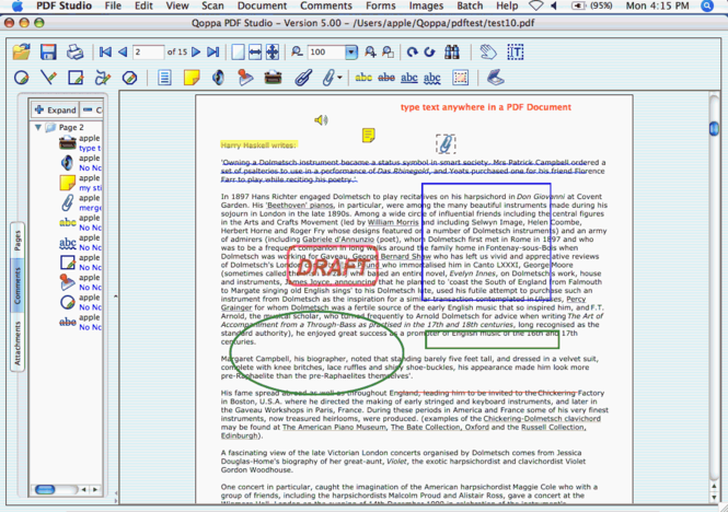 PDF Studio Screenshot