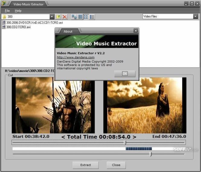 Video Music Extractor Screenshot 3