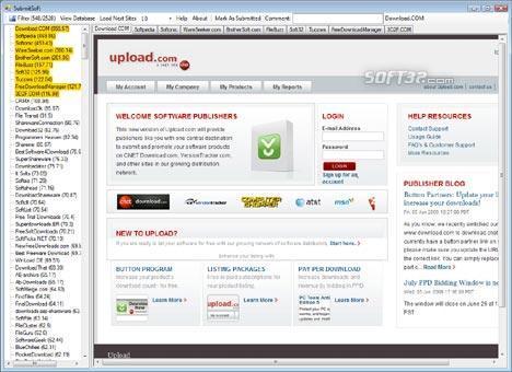 SubmitSoft Screenshot 3